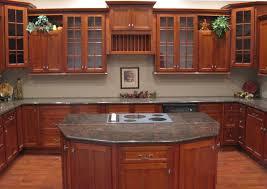 Simple Cherry Cabinet Kitchen Designs Glass Backsplash Cabinets - Cherry cabinets kitchen
