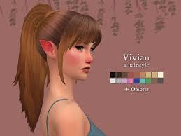 cc hair for sism4 nolan sims