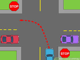Speed Limit In Blind Intersection How To Stop At A Stop Sign 15 Steps With Pictures Wikihow