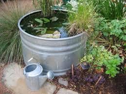 diy containers garden pond home design garden u0026 architecture