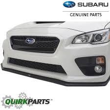 subaru wrx 2017 2015 2017 subaru wrx u0026 sti front bumper under spoiler oem new