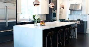 marble kitchen islands waterfall kitchen island granite kitchen quartz remnants white