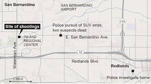 shooters in san bernardino massacre seemed to be living the