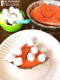 kindergarten thanksgiving activities words counting pie in a