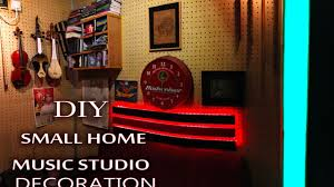 small music studio music studio small size easy decoration led tower youtube