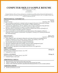 software exles for resume skill resume template technical skill exles for a skill