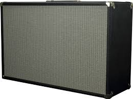 vintage fender 2x12 cabinet blackface bassman style 2x12 guitar amplifier speaker extension