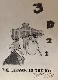 holden caulfield drew this for 2d u0027s birthday anyone else think that on the demon