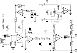 compressor for electret microphone circuit and explanation