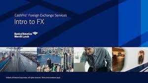 Merrill Lynch Help Desk Cashpro Fx Solutions From Bank Of America Merrill Lynch