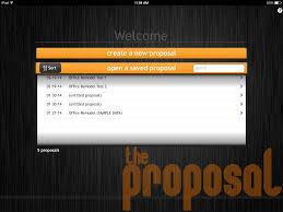 Remodel App The Proposal App Ascend Studios