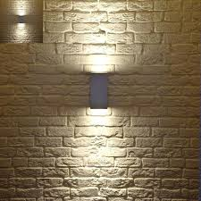 exposed brick wall lighting brick wall lighting ways to decorate an exposed brick wall without
