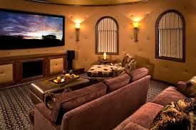 theater room sconce lighting mediterranean theater room mediterranean home theater phoenix