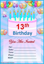 birthday invitation templates birthday invitation templates