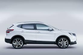 white nissan 2014 nissan qashqai white side indian autos blog