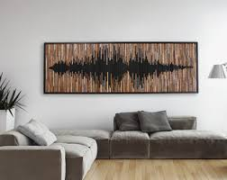 large wood wall hanging modern wood etsy