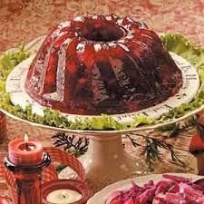 cranberry gelatin mold recipe taste of home