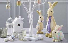 bunny decorations how to make polystyrene easter bunny decorations hobbycraft