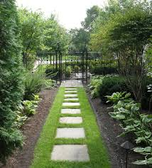 wrought iron fence designs landscape traditional with bluestone