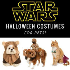 Star Wars Dog Halloween Costumes Star Wars Halloween Costumes Cats Dogs Halloween