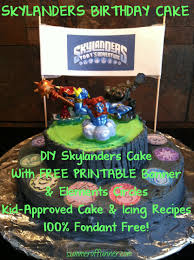 skylanders portal of power birthday cake summer of funner