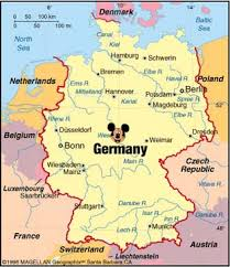 map of countries surrounding germany map of germany and surrounding countries map countries