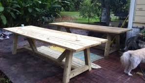 Free Wooden Dining Table Plans by Free Diy Furniture Plans To Build A Restoration Hardware Inspired