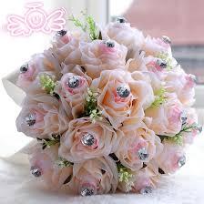 wedding flowers northern ireland 2015 gentle chagne pink artificial wedding bridal