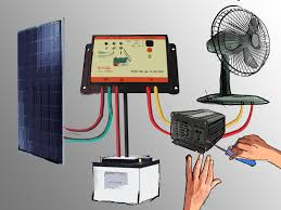 use solar how to set up a small solar photovoltaic power generator