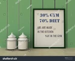motivation words 30 gym 70 diet stock illustration 358722953