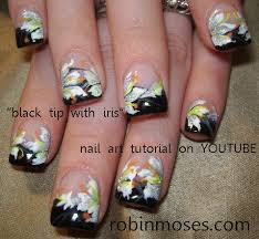 robin moses nail art nails done with eyeshadow mac eyeshadow
