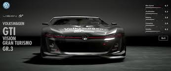 black volkswagen gti volkswagen gti vision gran turismo gr3 gran turismo sport car list