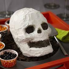 wilton halloween cake pans skull cake wilton