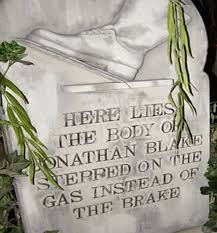 gravestone sayings epitaphs brief poems