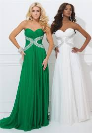 line strapless sweetheart emerald green chiffon beaded long