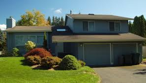 split level ranch seattle area edmonds split level exterior house painting up