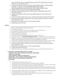 Sap End User Resume Sample Sample Resume For Food Counter Attendant Cheap Admission Paper