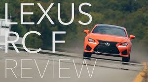 lexus rc f app 2015 lexus rc f review consumer reports youtube