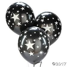 black balloons with silver 11 balloons