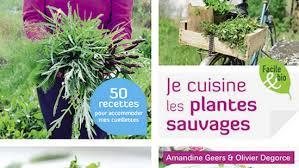cuisiner les plantes sauvages livres publications culture