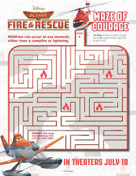 disney planes fire u0026 rescue free activity sheets mommy nerd