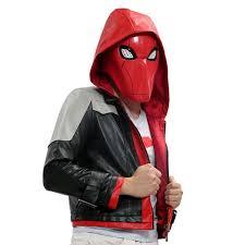 halloween movie shirt red hood costume batman under the red hood cosplay cotton t shirt