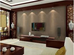 living room packages with free tv free shipping high quality non woven plane wallpaper living room
