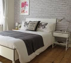 brick wallpaper bedroom ideas glamorous brick wallpaper bedroom