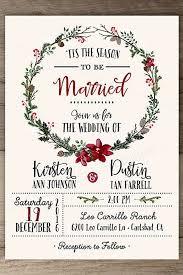 invitation for wedding 24 winter wedding invitations winter wedding invitations