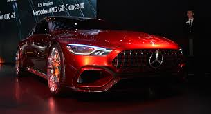 mercedes amg gt concept mercedes amg gt concept brings its neck twisting design to york