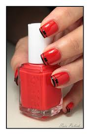 chic et portable au quotidien sois polish red black