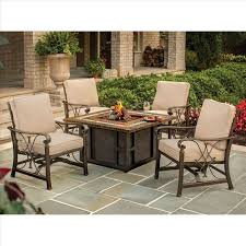 alderbrook faux wood fire table wood burning fire pit table costco barrel alderbrook faux outdoor