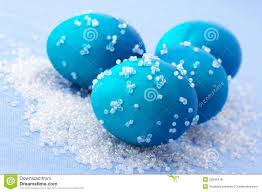 blue easter eggs blue easter eggs stock photo image of colour collection 23345418