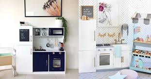 kmart kitchen furniture these clever parents are hacking the kmart wooden kitchens